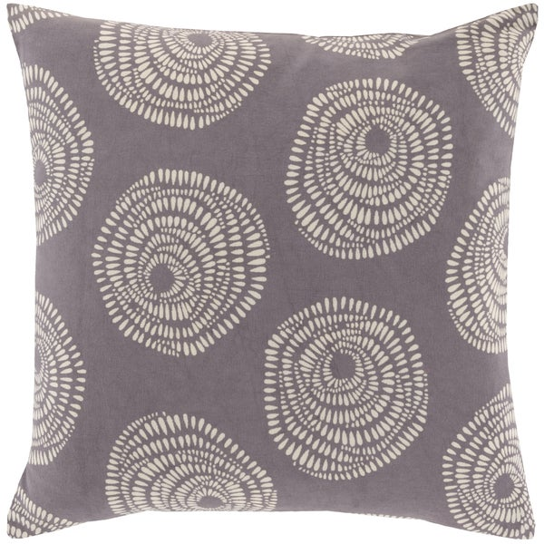 Decorative Cailyn Circles and Dots 22-inch Throw Pillow