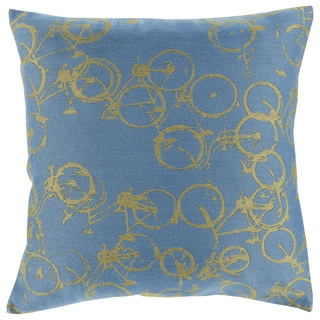 Decorative Leslie Novelty 22-inch Throw Pillow