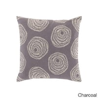 Decorative Cailyn Circles and Dots 20-inch Throw Pillow