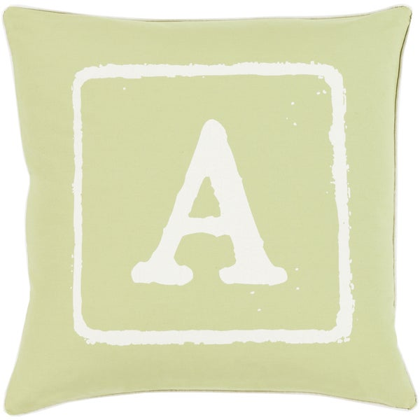 Desmond Feather Down Filled or Poly Filled 18-inch Throw Pillow