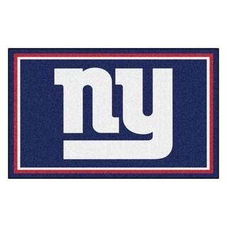 Fanmats New York Giants Blue Nylon Area Rug (4' x 6')
