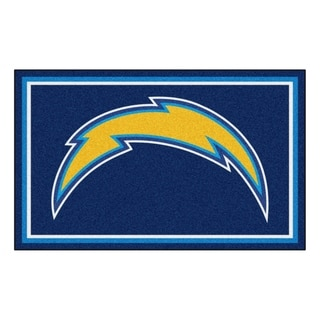 Fanmats San Diego Chargers Blue Nylon Area Rug (4' x 6')