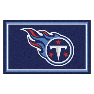 Fanmats Tennessee Titans Blue Nylon Area Rug (4' x 6')