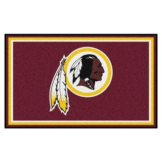 Fanmats Washington Redskins Burgundy Nylon Area Rug (4' x 6')