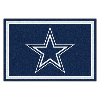 Fanmats Dallas Cowboys Blue Nylon Area Rug (5' x 8')