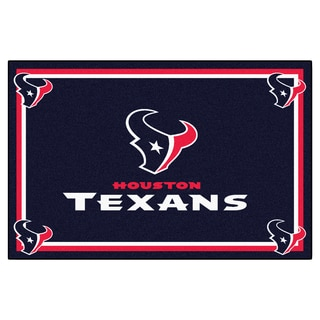 Fanmats Houston Texans Blue Nylon Area Rug (5' x 8')
