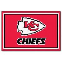 Fanmats Kansas City Chiefs Red Nylon Area Rug (5' x 8')