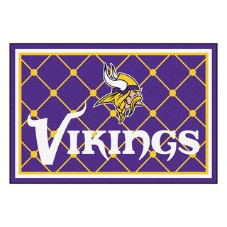 Fanmats Minnesota Vikings Purple Nylon Area Rug (5' x 8')