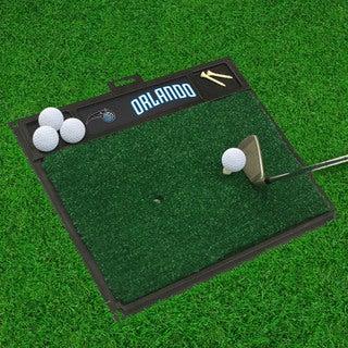 Fanmats Orlando Magic Black Rubber Golf Hitting Mat
