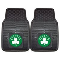 Fanmats Boston Celtics Black Vinyl Car Mat Set