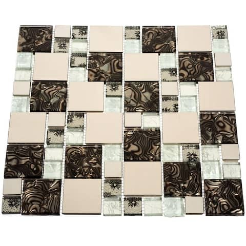 Florence Glass Tiles (10.76 Square Feet) (Case of 11 sheets)
