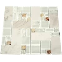 Polynesian Shore Glass Tiles (10.76 Square Feet) (Case of 11 sheets)
