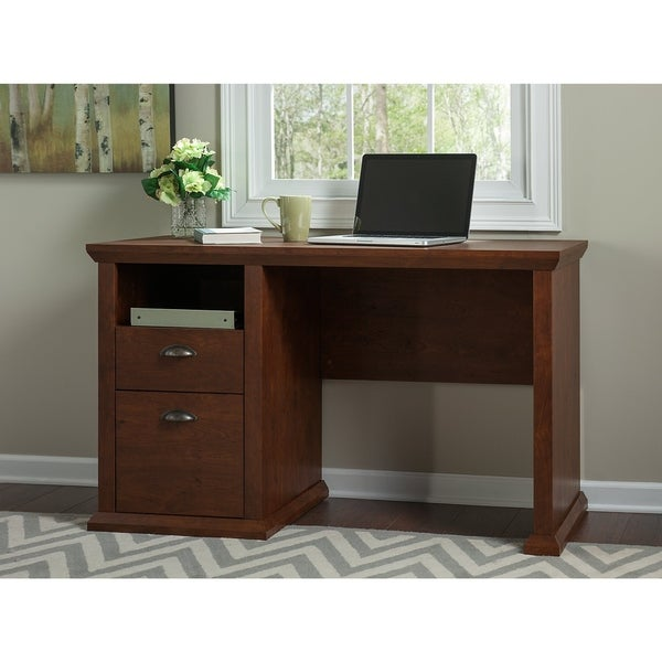 Astounding Shop Copper Grove Senaki Antique Cherry Desk On Sale Download Free Architecture Designs Embacsunscenecom