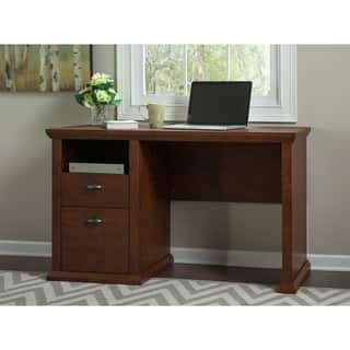 Yorktown Antique Cherry Home Office Desk|https://ak1.ostkcdn.com/images/products/10527437/P17610077.jpg?impolicy=medium