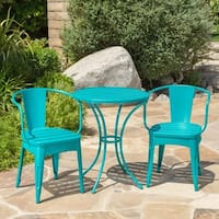 Colmar Outdoor 3-piece Bistro Set by Christopher Knight Home