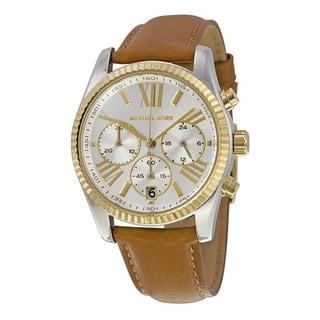 Michael Kors Women's Brown Leather Watch