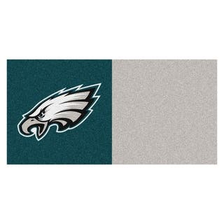 Fanmats Philadelphia Eagles Teal and Grey Carpet Tiles|https://ak1.ostkcdn.com/images/products/10527550/P17610323.jpg?impolicy=medium