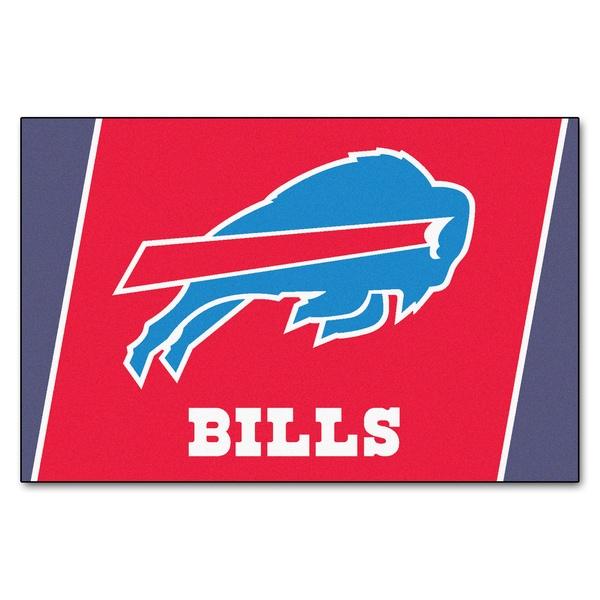 Fanmats Buffalo Bills Red Nylon Area Rug (5' x 8')