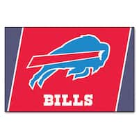 Fanmats Buffalo Bills Red Nylon Area Rug (5' x 8')