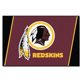 Fanmats Washington Redskins Burgundy Nylon Area Rug (5' x 8')