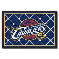 Fanmats Cleveland Cavaliers Blue Nylon Area Rug (5' x 8')