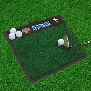 Fanmats New York Knicks Black Rubber Golf Hitting Mat