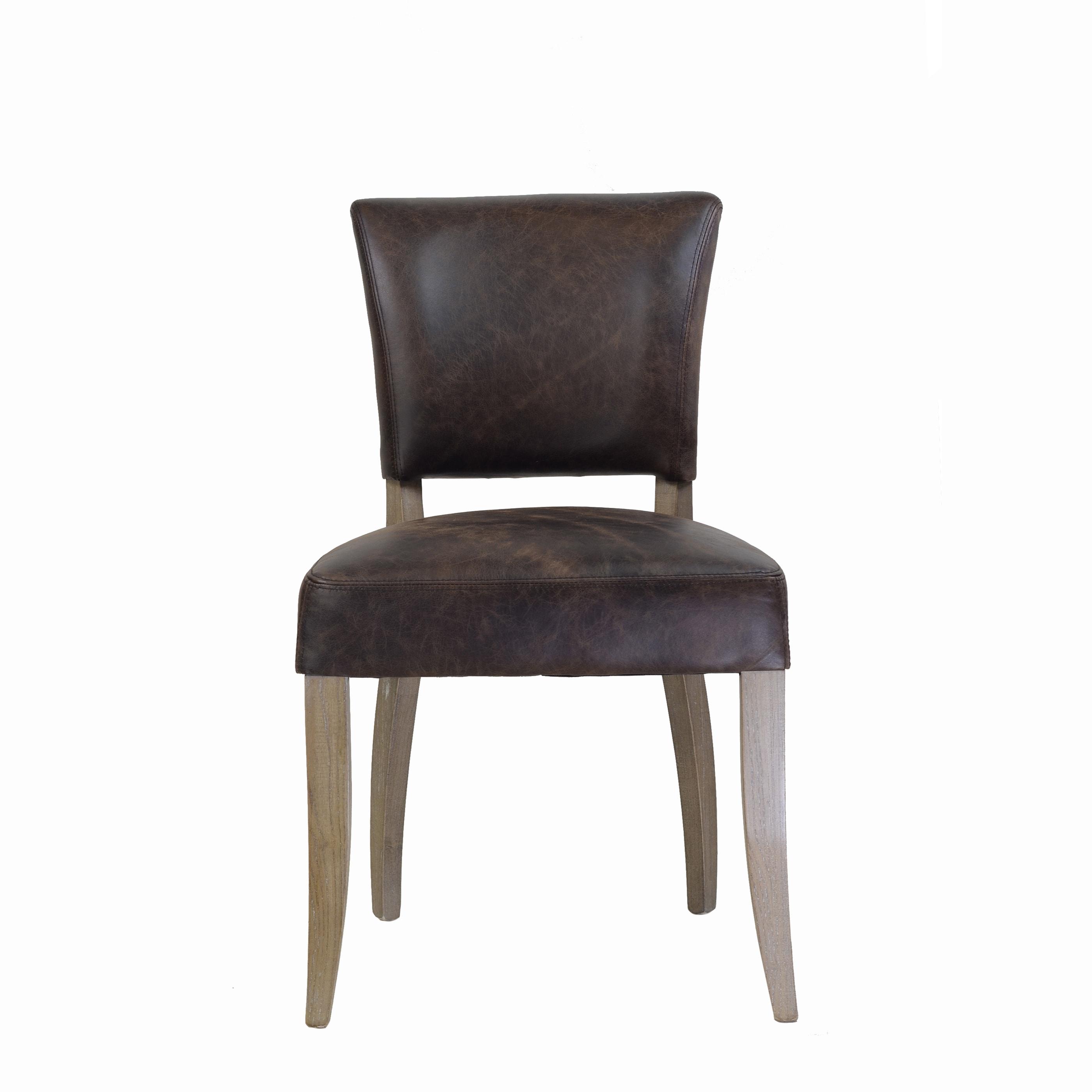 Marvelous Handmade Adele Leather Dining Chair India Machost Co Dining Chair Design Ideas Machostcouk