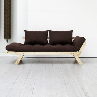 Fresh Futon Bebop, Natural Frame with 9 Mattress Colors