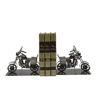 Motorcycle Book Stands (Set of 2)