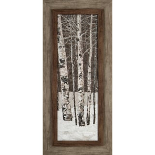 Tree in Winter III 17X37 Framed Print Wall Art