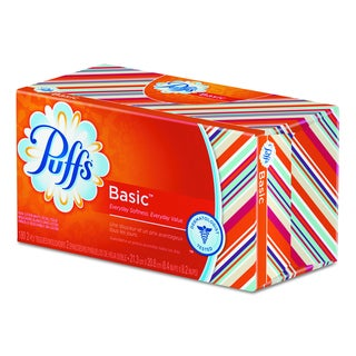 Puffs 2-Ply White Facial Tissue (Pack of 24)