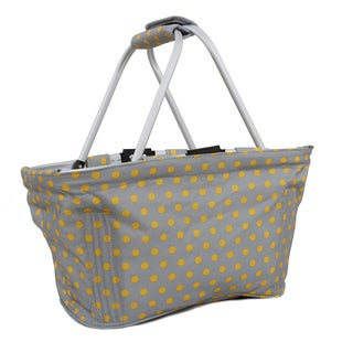 J World Candy Buttons Pica Reversible Picnic Tote