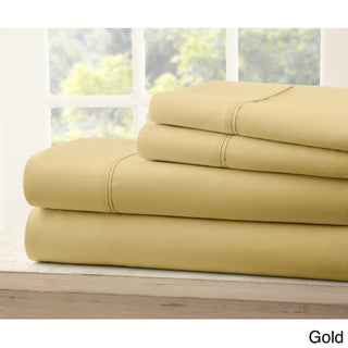 Soft Essentials Ultra-soft 4-piece Bed Sheet Set (More options available)