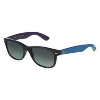 Ray-Ban RB2132 55mm Grey Gradient Lenses Black/Blue Frame Sunglasses|https://ak1.ostkcdn.com/images/products/10528044/P17610589.jpg?impolicy=medium