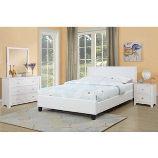 Bershad 4-piece White Bedroom Set