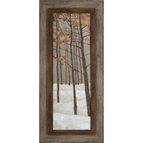 Hobbitholeco. 'Tree in Fall II' 17 x 37-inch Framed Print Wall Art