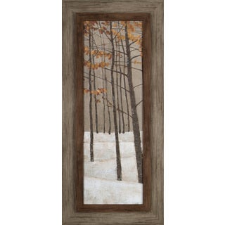 Hobbitholeco. 'Tree in Fall II' 17 x 37-inch Framed Print Wall Art