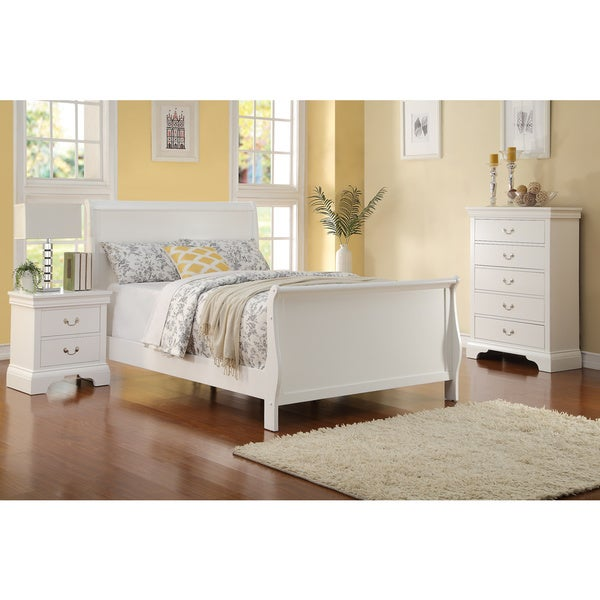 shop ichnia 3 piece white bedroom set free shipping today 10528078