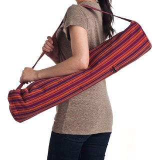 Hand-woven Large Yoga Bag