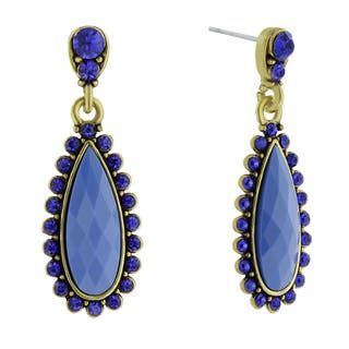 Adoriana Drop Crystal Earrings, Blue|https://ak1.ostkcdn.com/images/products/10528134/P17610722.jpg?impolicy=medium