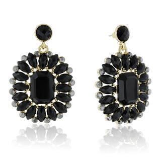 Adoriana Midnight Crystal Earrings, Black|https://ak1.ostkcdn.com/images/products/10528146/P17610728.jpg?impolicy=medium