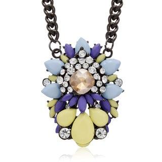 Adoriana Candy Necklace, Lemon Drop