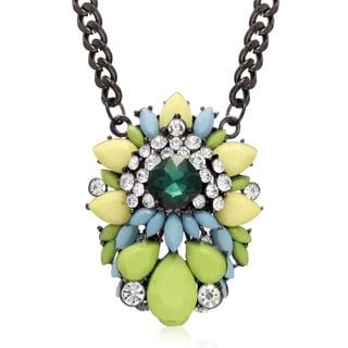Adoriana Candy Necklace, Green Apple
