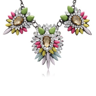 Adoriana Multi Crystal Station Necklace