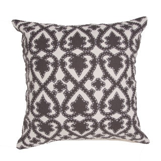 Handmade Floral Pattern Cotton 22-inch Pillow (Set of 2)