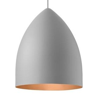 LBL Signal Grande Rubberized Gray Exterior with Copper Interior CF Pendant