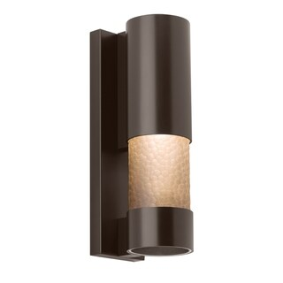 LBL Moon Dance LED Bronze Outdoor Sconce