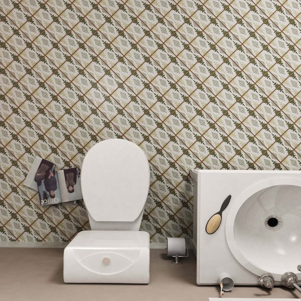 SomerTile 4.875x4.875-inch Chronicle Mandir Ceramic Floor and Wall Tile (32 tiles/5.9 sqft.)