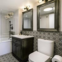 SomerTile 9.75x9.75-inch Vendimia Ruzafa Porcelain Floor and Wall Tile (16 tiles/10.76 sqft.)