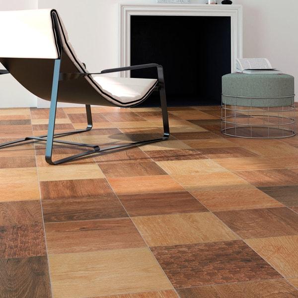 Somertile woodland gold porcelain floor and for 16 inch floor tile